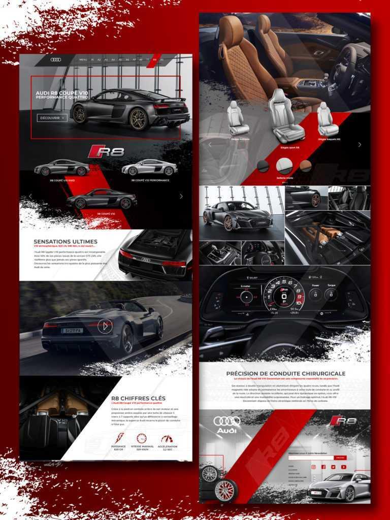 Maquette Audi
