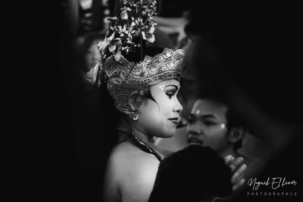 Photographie portrait Danseuse Bali